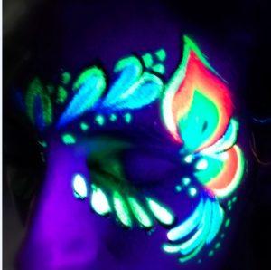 masque makeup lumiere noire